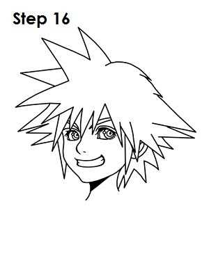 How To Draw Sora From Kingdom Of Hearts All About Alyssa Myer