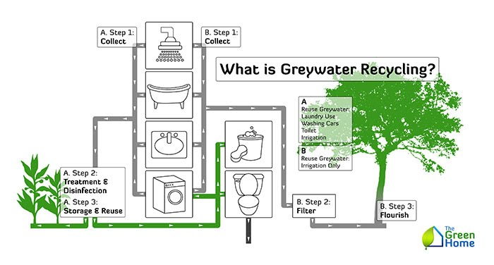 Greywater Vs Blackwater Sustainable Philosophy Greywater Systems