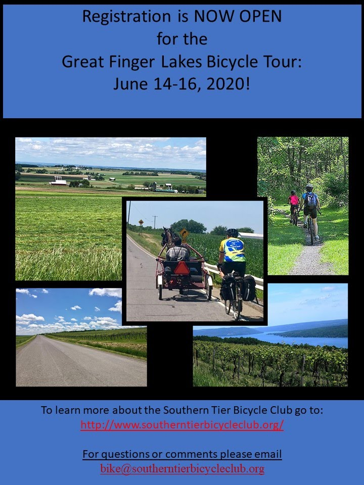 Great Finger Lakes Bike Tour