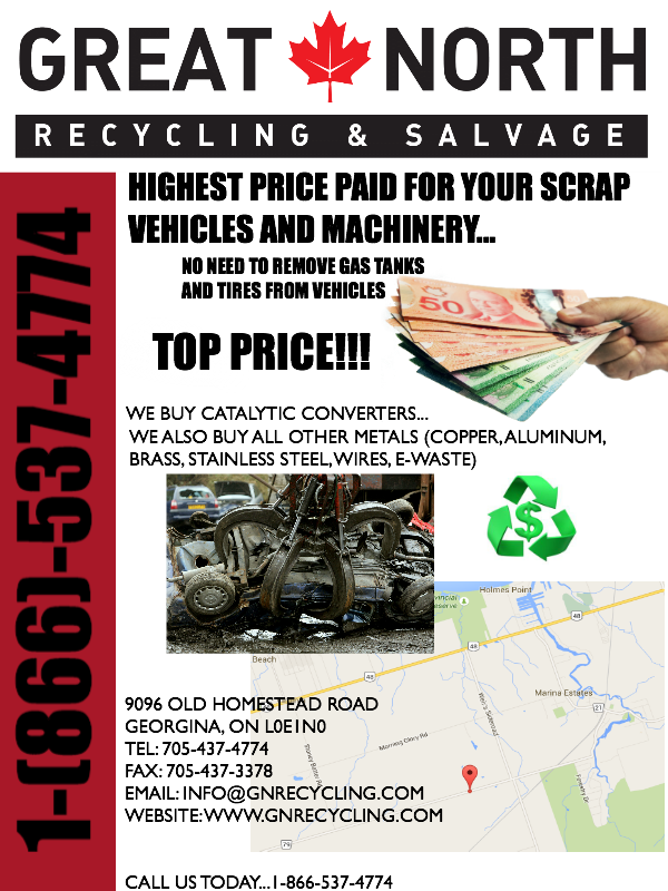 Great North Recycling & Salvage