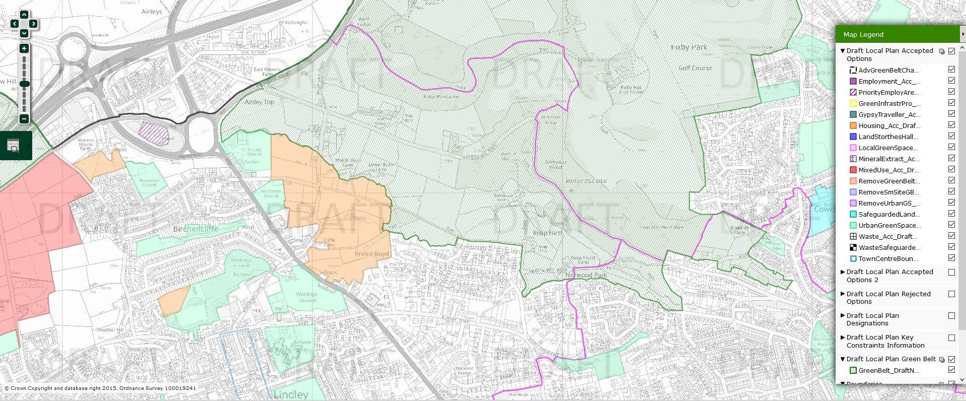 Green Belt proposed