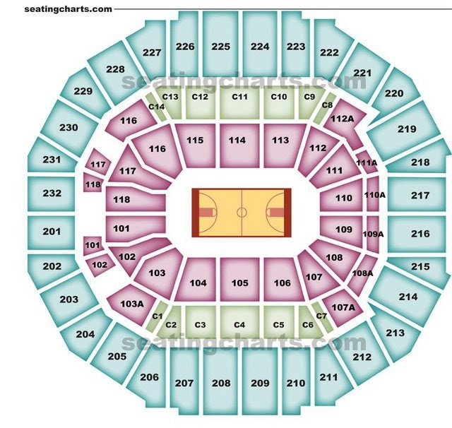 Memphis grizzlies seating chart grizzliesseatingchart com