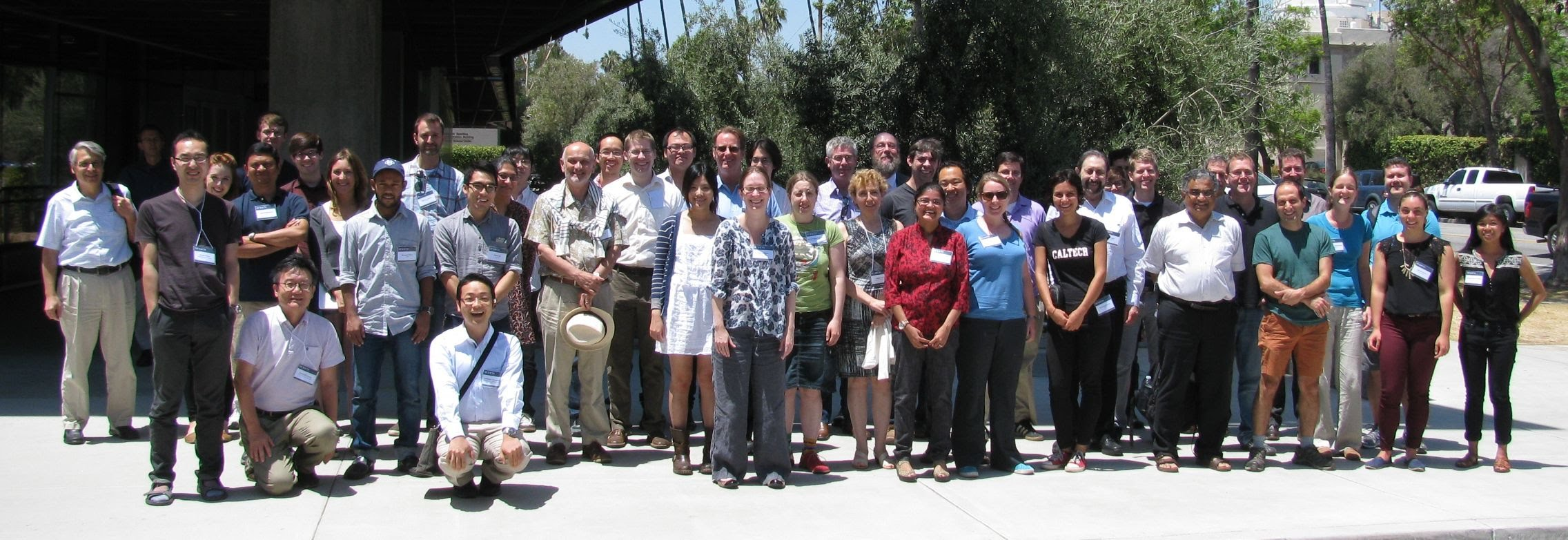 GROWTH team at the first GROWTH conference in Caltech, July 2016