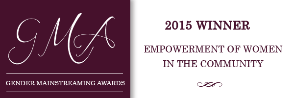 Winner 2015 Gender Mainstreaming Awards