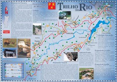 mapa geres pontos interesse Trilho do Rio   Pénotrilho   Grupo de Pedestrianismo de Braga mapa geres pontos interesse