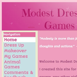 Modest Dress Up Games