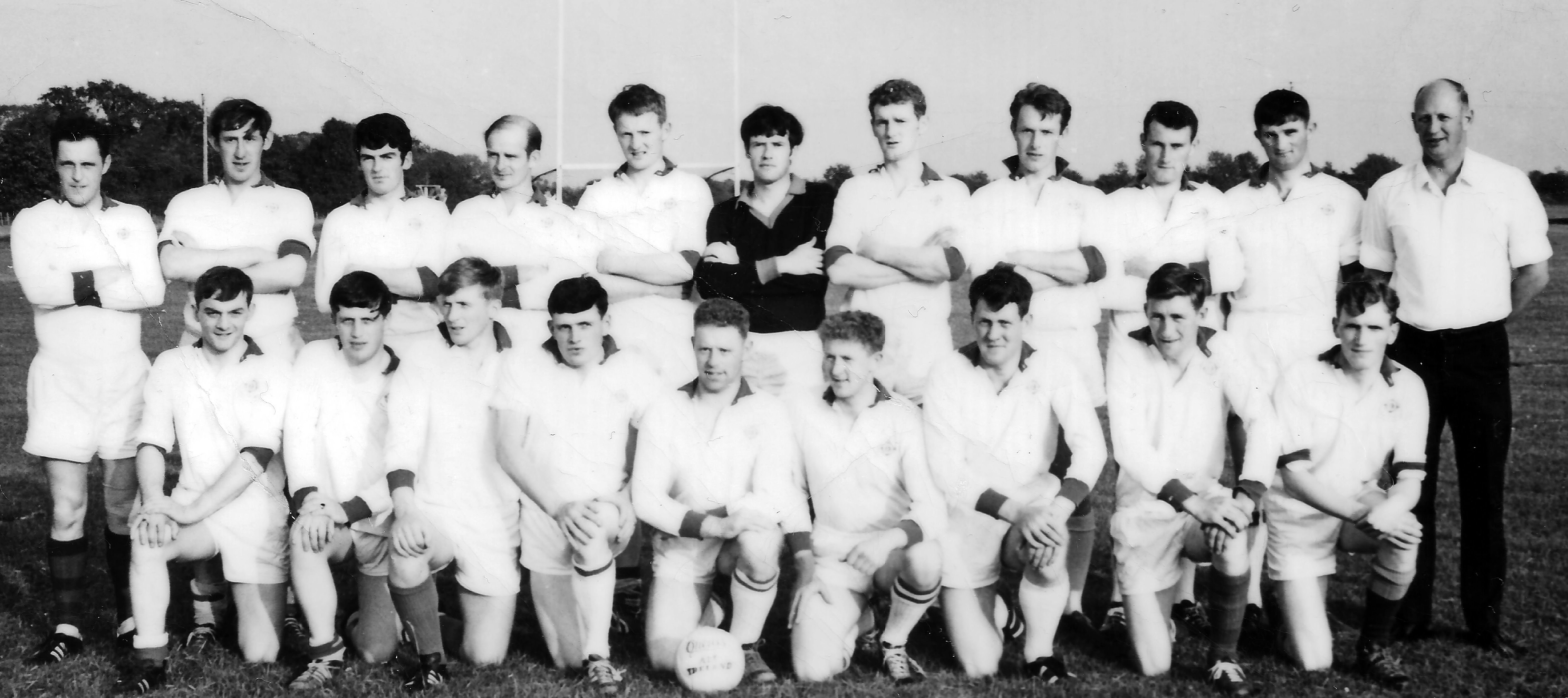 All Ireland Garda Football Team Circa 1970
