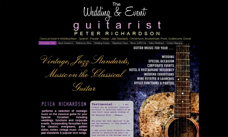 Wedding & Function Performance - Guitar Lessons Barton on