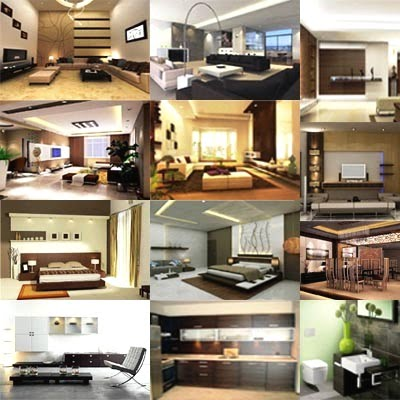 Interior Design Collage