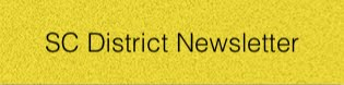 1st Quarter SC District Bulletin