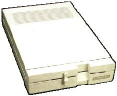 Picture of a Commodore 1571 floppy disk drive (5.25 inch)