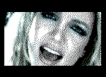Image of Britney Spears with 100% color component compression!