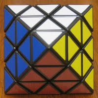 Photo of an (n=3) octahedron puzzle