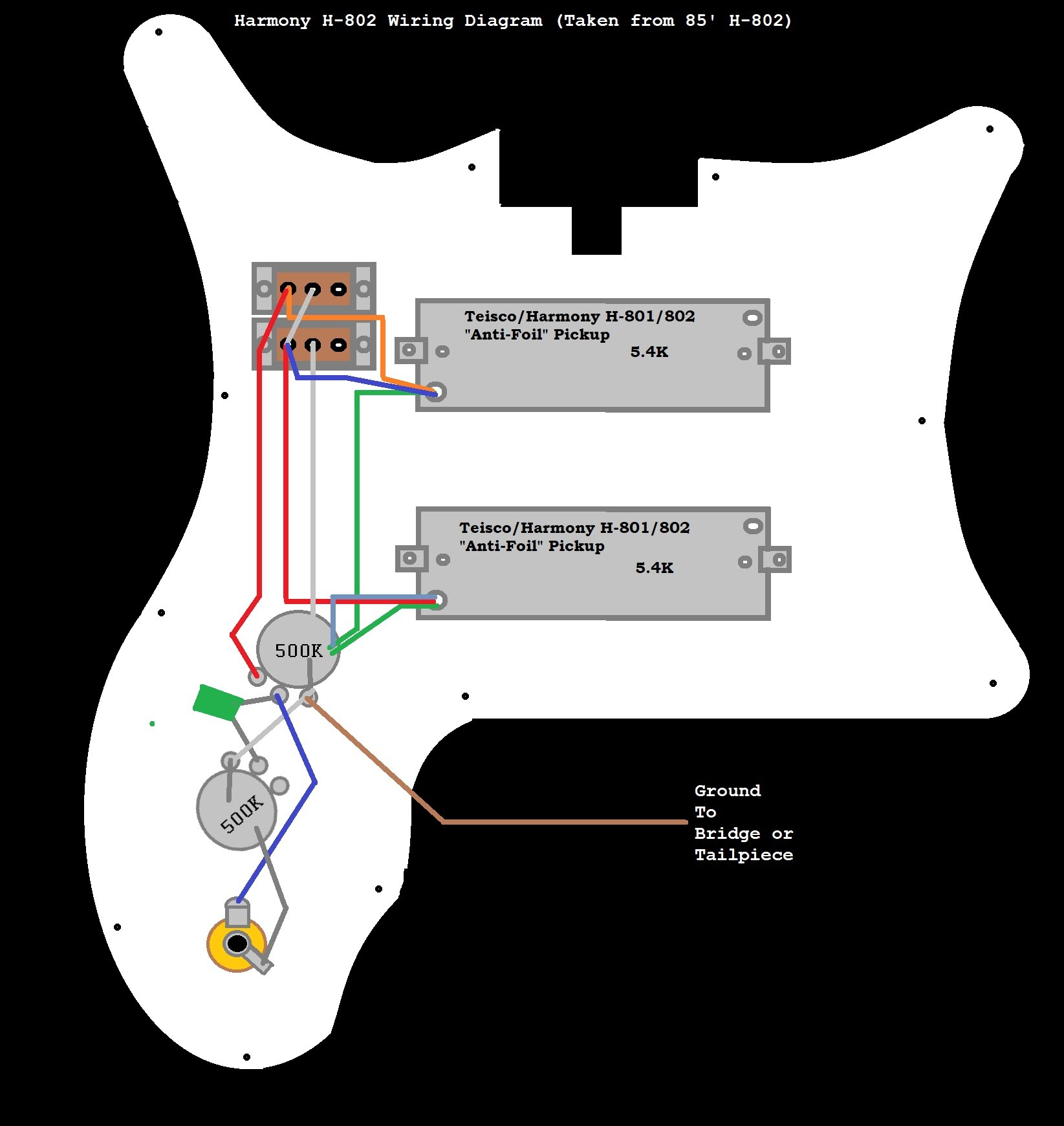 Wiring Diagrams - The Harmony H-80x/281x SiteGoogle Sites