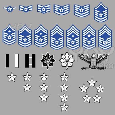 Usaf ranks military center usaf ranks sciox Choice Image