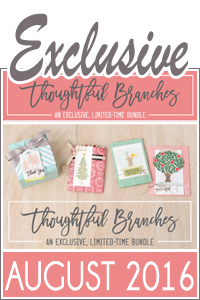 Thoughtful Branches Exclusive Bundle by Stampin Up