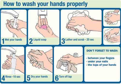 Image result for proper hand washing