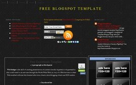 template 3 column blacktouch