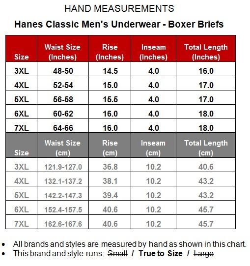 Sizing for each brand of underwear and fetishwear UnderBriefs sells. Free shipping available in the US. Briefs, jocks, jockbriefs, socks, shorts, and singlets. Size Chart. Sizing for each brand we sell - provided to us by the brand - is listed below. 4Hunks. Size: Sign Up for the UnderBriefs Newsletter.