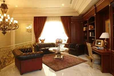 Luxury of Classical Interior Design of Home Architecture