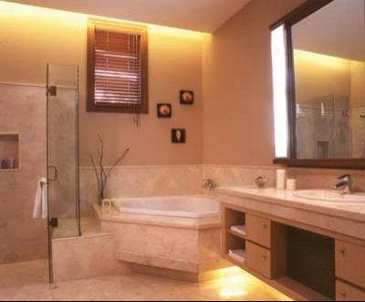 modern bathroom natural interior design