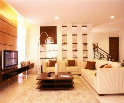 ultra modern living space luxury ambience