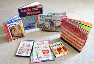 favorite Andy Warhol books