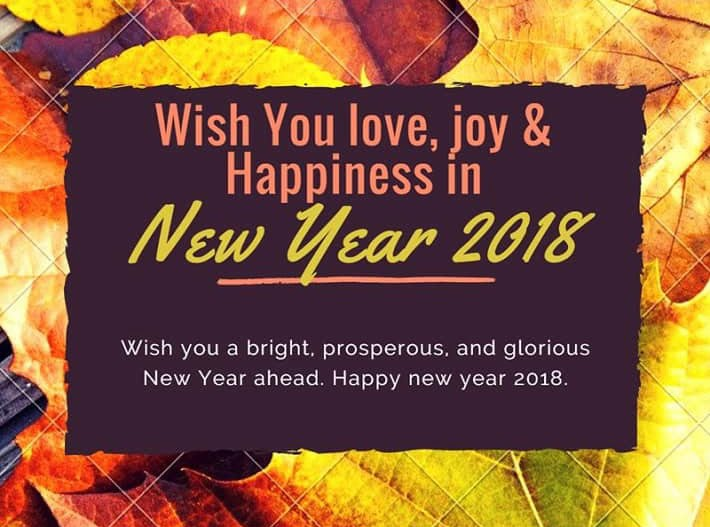happy new year pictures 2018