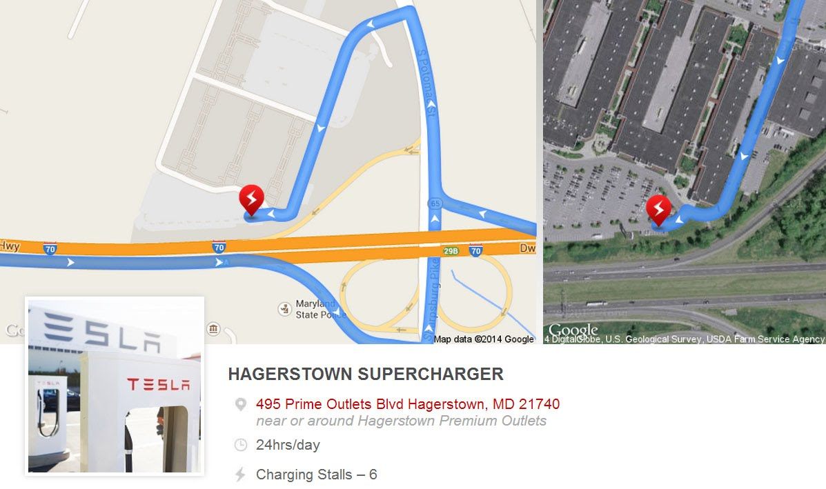 Tesla Supercharger Google Earth Map Project   Harbles' Hairball