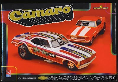 Image result for model king camaro funny car