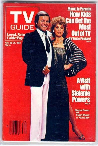 TV WEEK JANUARY 8, 1983 E.T. COVER NSW MAGAZINE