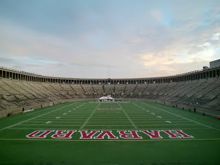 Harvard Stadium Football Field