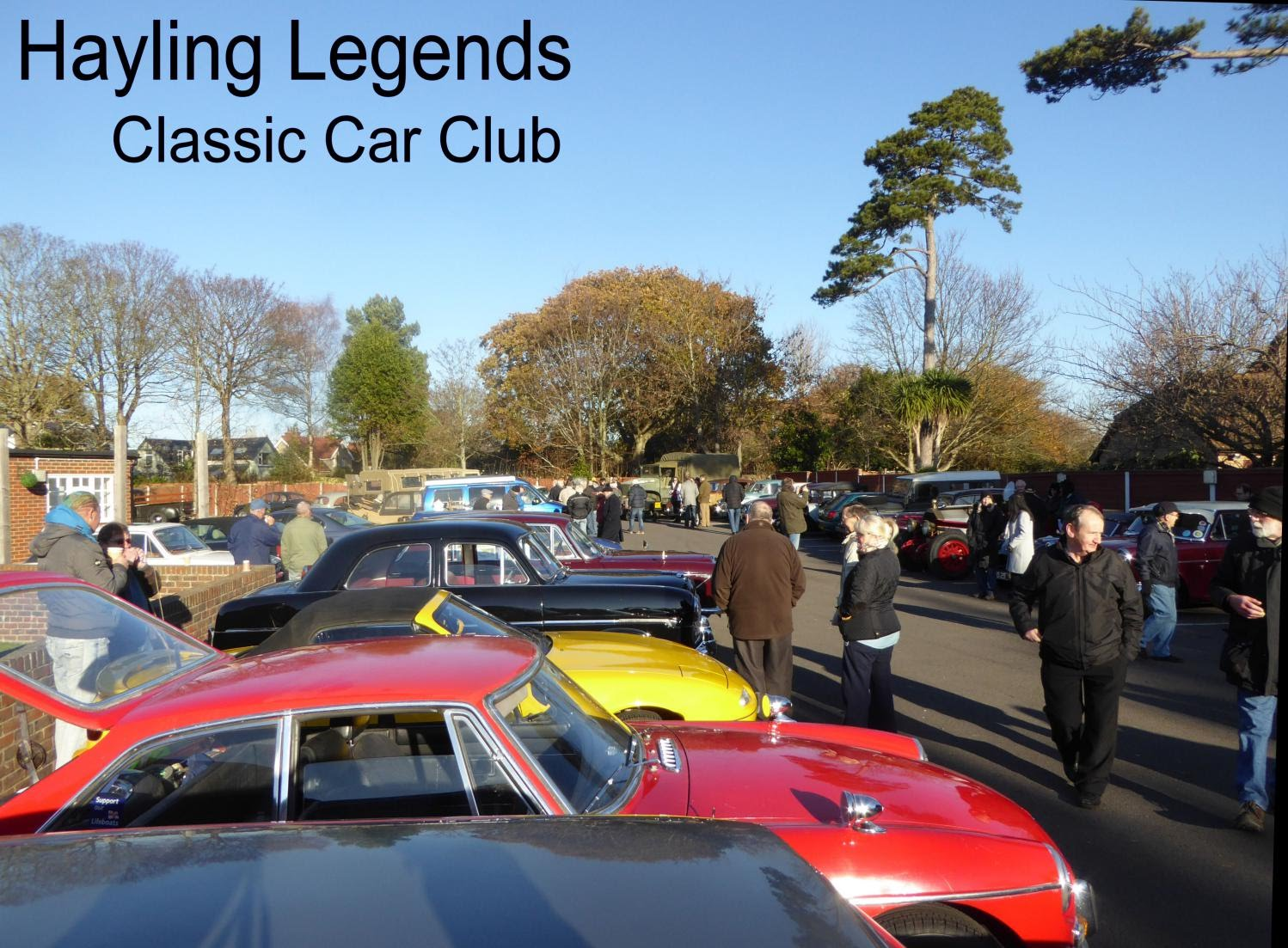 Hayling Legends Classic Car Club - Classic car sites