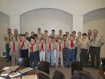 Troop 9 Crossover 16 December 2012