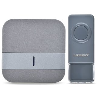 Remarkable feature] ABLEGRID® Portable Wireless Doorbell with 900