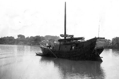 Chinese Junk on the Xiang River