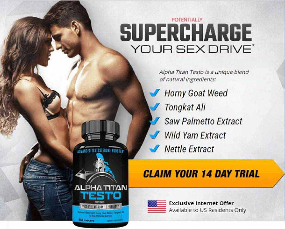 Alpha Titan Testo (Canada) Male Enhacement Reviews Of Sexual