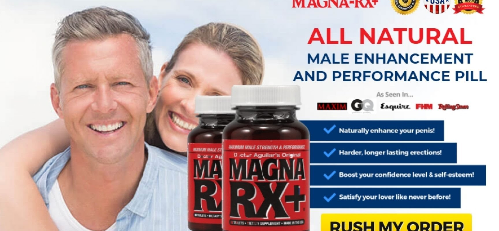 Magna RX  Male Enhancement Pills Special Features