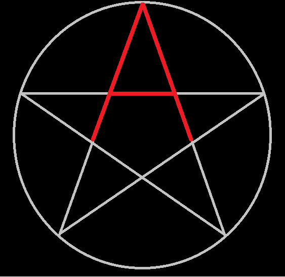 The Albion Pentacle - the A is Hidden in Plain Sight!