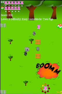 """playing game """"explosion"""""""
