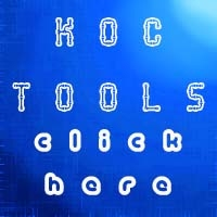 KoC Spy and Sentry Tools
