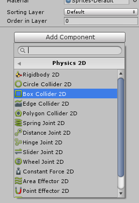 H  Collision Setup - Hello Unity Projects!