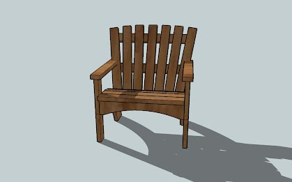 how to build an adirondack chair helpfulhandymanhints