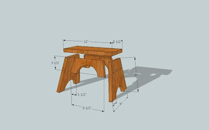 Magnificent How To Build A Childs Step Stool Helpfulhandymanhints Ncnpc Chair Design For Home Ncnpcorg