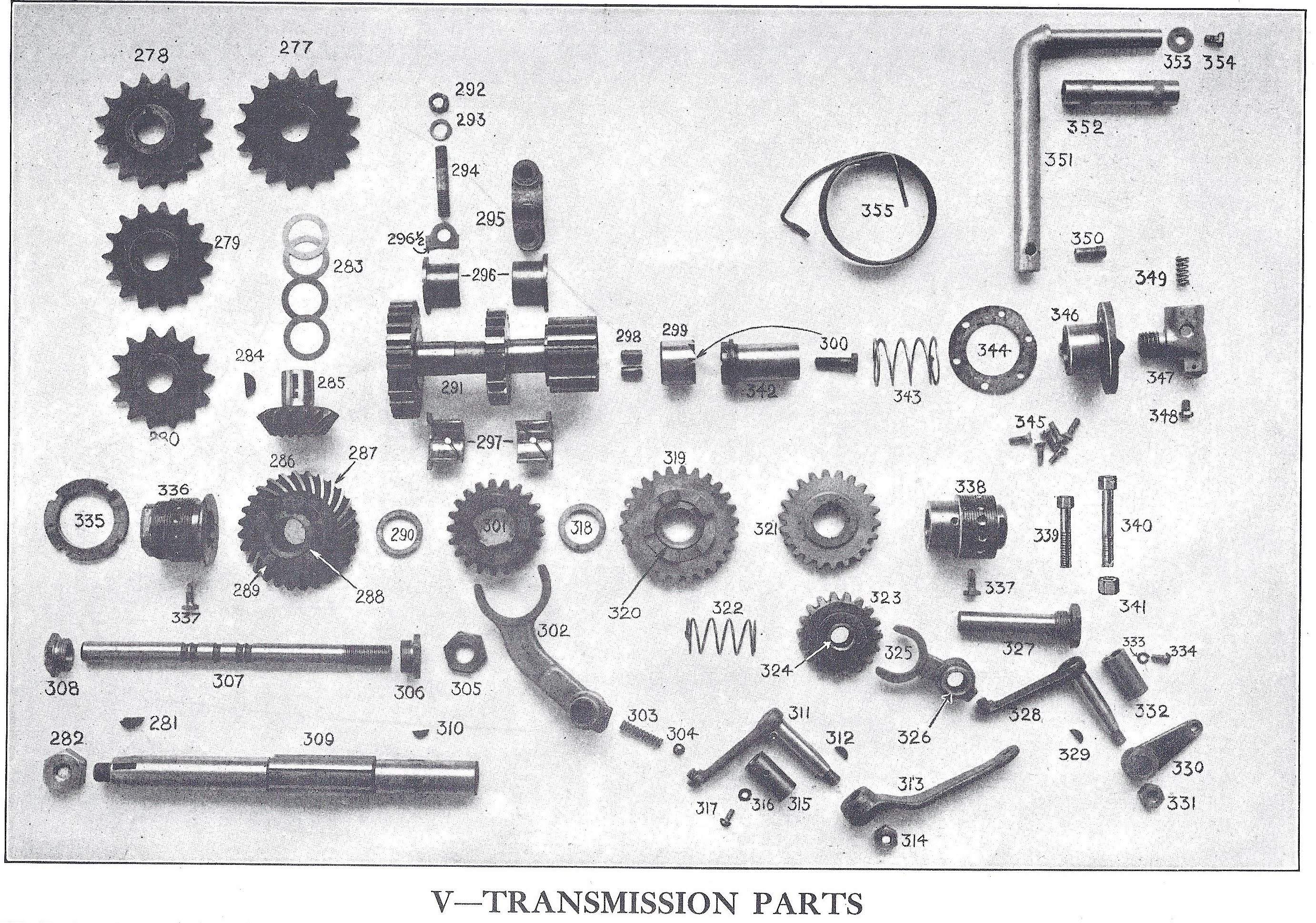 Transmission Parts - The Henderson Motorcycle Co  (Excelsior
