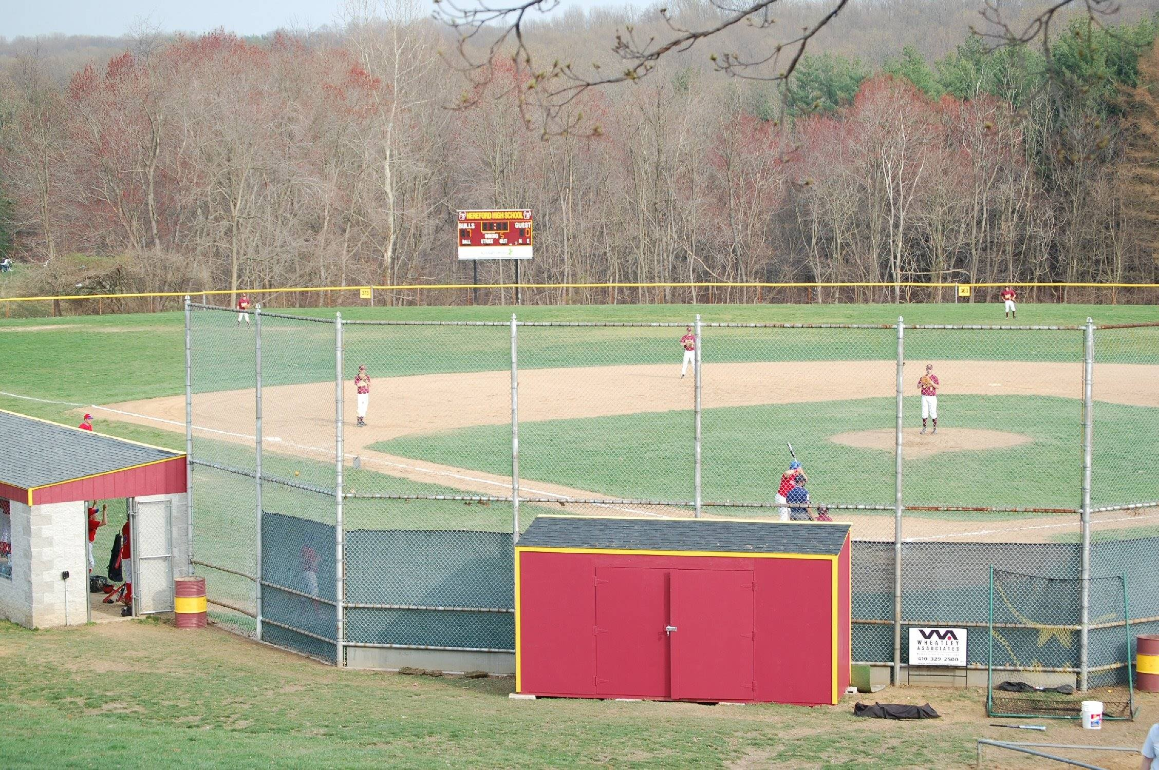 Image result for hereford high school baseball field