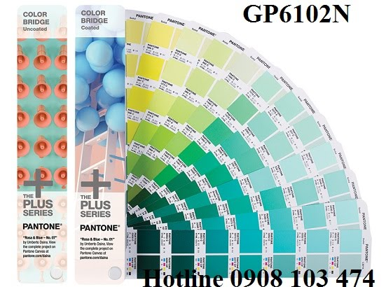 Pantone Plus Color Bridge Coated & Uncoated GP6102N Gồm 1845 màu
