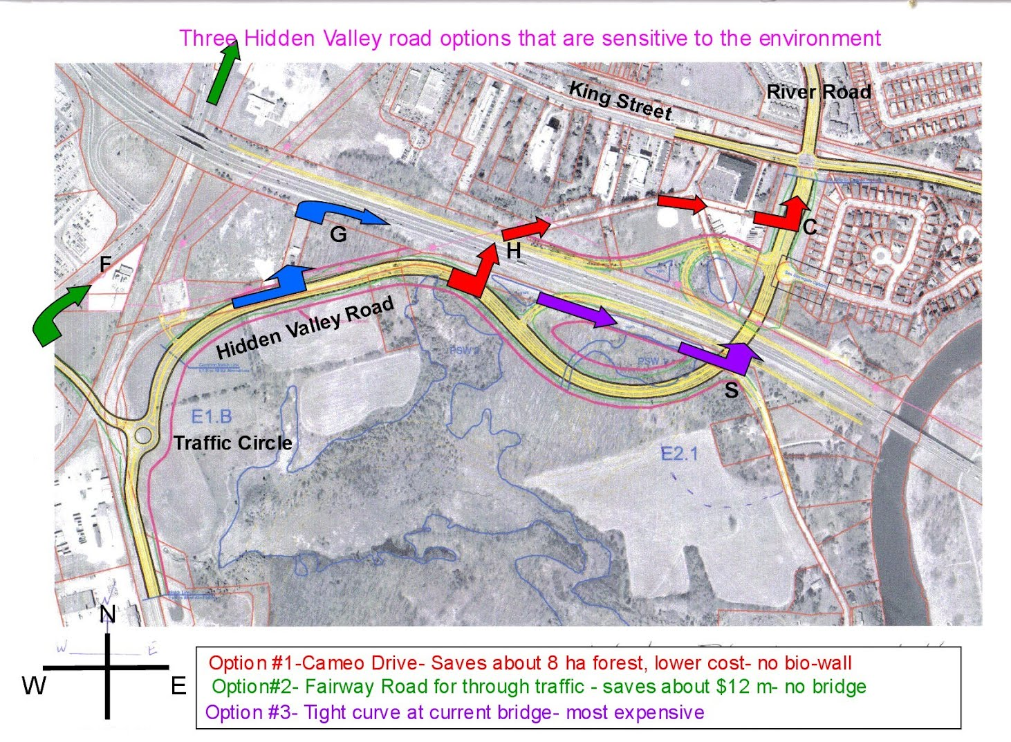 Hidden Valley To River Road Extension Hiddenvalleyorg - River road map