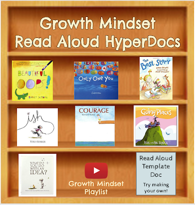 Growth Mindset Read Aloud HyperDocs