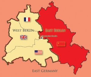 a divided germany